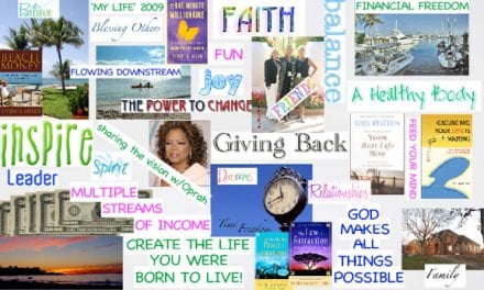 How To Create a Vision Board and Live Your Dreams