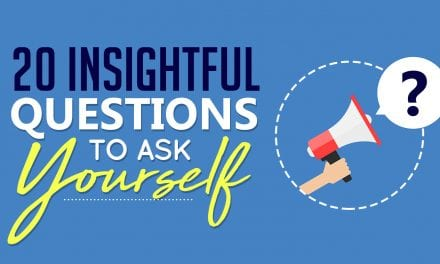 Twenty Insightful Questions To Ask Yourself